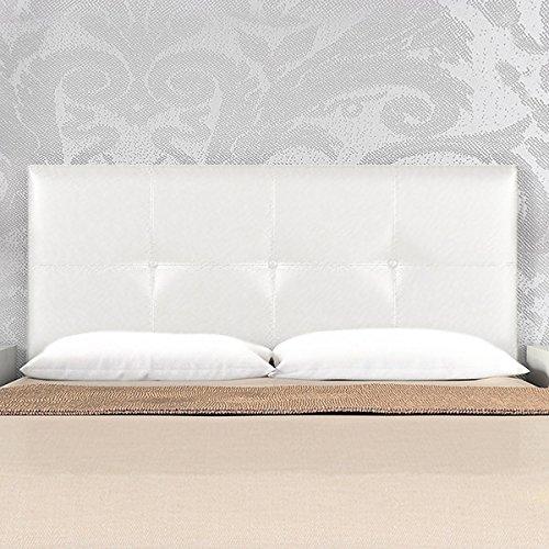 Cabecero polipiel classic para cama de 150 cms alto 60 cms - Cabecero polipiel blanco ...