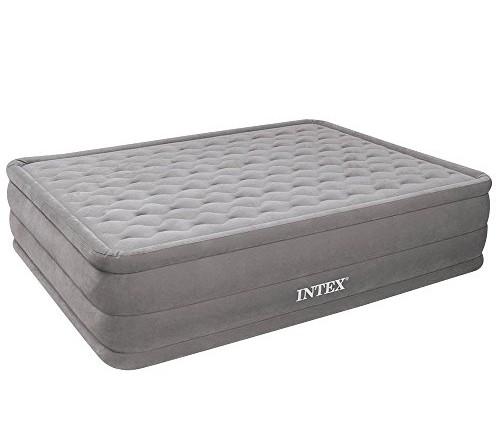 Cama de aire intex ultra plush bed 152 x 203 x 46 cm con inflador - El mejor colchon para descansar ...