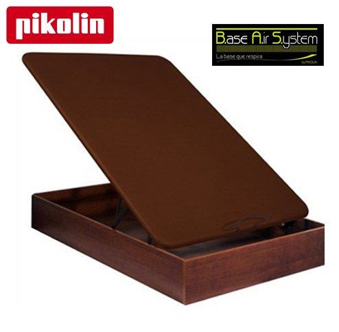 Canap abatible pikolin naturbox madera 3d 135 cms for Canape abatible pikolin
