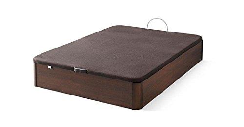 Canap madera abatible xl gran capacidad 180x200 cm for Colchones ikea 180x200