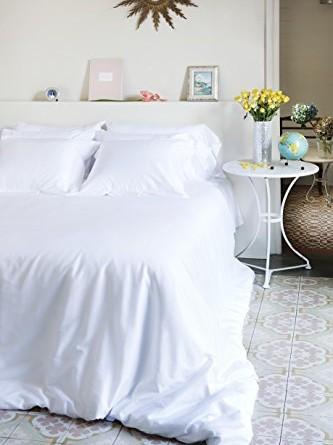 The white basics colecci n capri juego de cama sat n - Sabanas 180 ikea ...