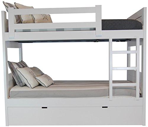 Litera 3 camas en mdf dm 4 cm de grosor comprar - Literas nido 3 camas ...