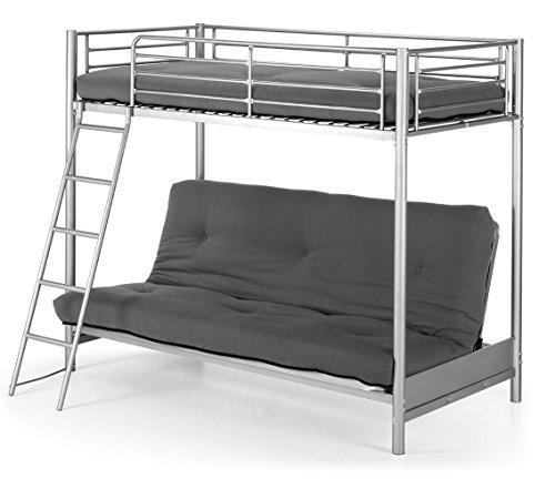 Litera met lica con sof cama de 90x190 cm - Literas metalicas carrefour ...