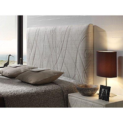Cabecero bordado tapizado rustic liana cama de 105 cm - Cabeceros cama 105 ...