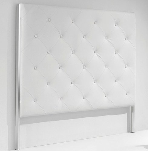 Adec cabezal capitone medidas 160 x 4 x 140 cm color - Cabecero capitone blanco ...