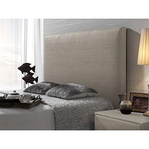 Cabecero tapizado rustic liso de 160 para cama de 150 cm for Cabeceros y canapes