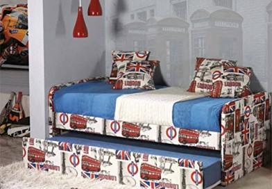 Camas con canapé abatible : Modelo LONDON 96x79x202 Colchonería