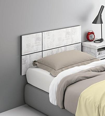 Cabezal o cabecero para cama individual de 90 o 105 de - Cabeceros de 105 ...
