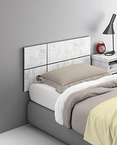 Cabezal o cabecero para cama individual de 90 o 105 de - Cabezales de forja modernos ...