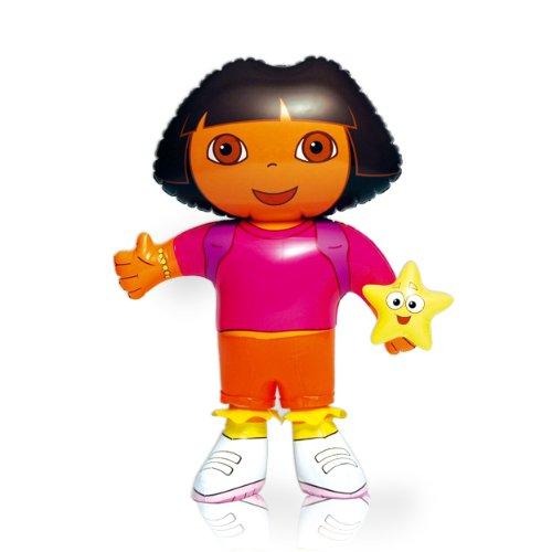 Personaje Hinchable Dora La Exploradora 52 cm Producto oficial Tamau00f1o ...