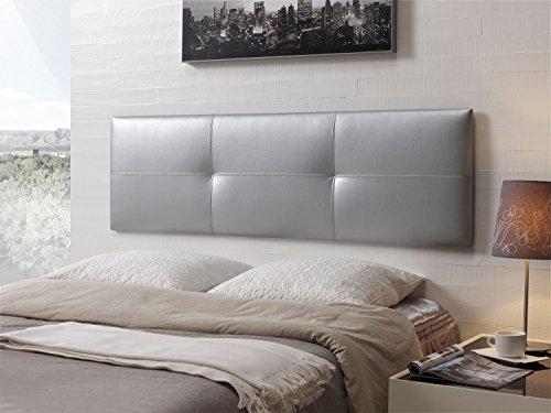 Cabecero de cama tapizado en polipiel mod effect 52x180 - Cabecero cama 180 ...