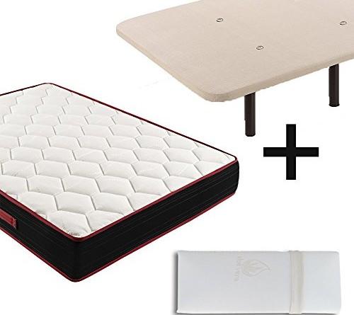Colch n viscoel stico reversible memory fresh 3d base tapizada con v lvulas de transpiraci n - Base para colchon viscoelastico ...