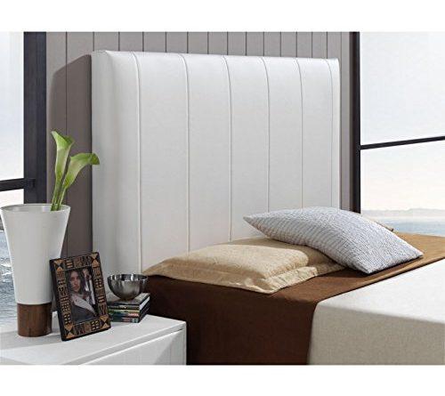 Tapizar cabeceros de cama latest best mqmcabecero cama individual tapizado en polipiel pliegues - Tapizar cabezal cama ...