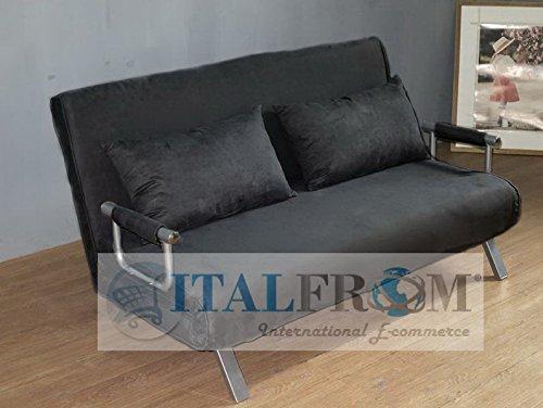 Italfrom sof cama de dos plazas 155 x 69 x 83 cm for Colchones para sofa cama dos plazas