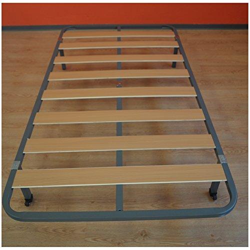 Somier basic l minas de madera 105x190 sin patas for Precio somier 105 x 190