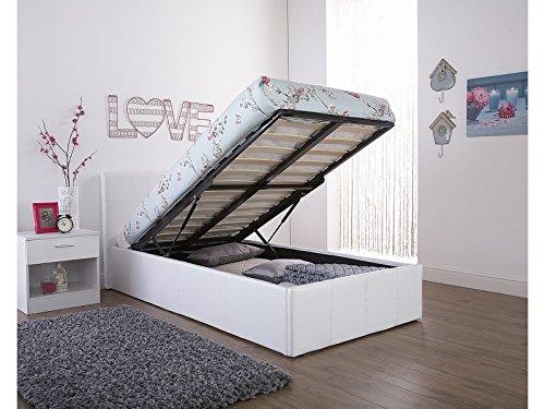 Cama abatible con espacio de almacenamiento, para cama sencilla (91 ...