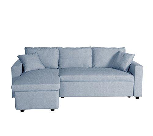 Sof cama chaise longue adara comprar colch n aloe vera for Comprar sofa chaise longue cama