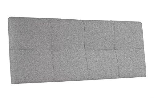 Cabecero tapizado para colgar en dormitorio modelo square - Vinilos cabezal cama ...